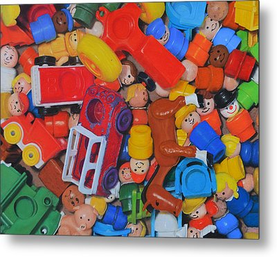 Little Peoples Metal Print