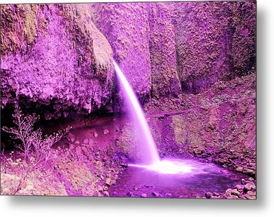 Little Pony Tail Falls  Metal Print by Jeff Swan