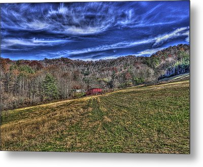 Little Red Hay Loft Metal Print by Craig T Burgwardt