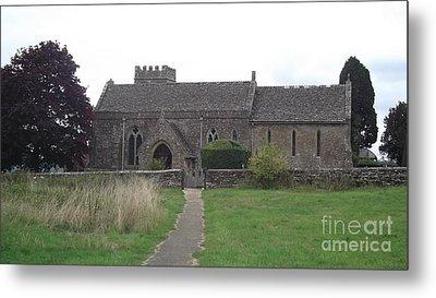 Little Rissington Church Metal Print by John Williams