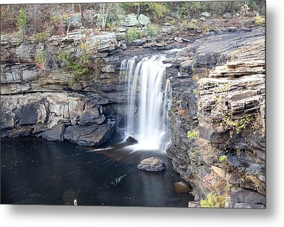 Metal Print featuring the photograph Little River Falls by Robert Camp