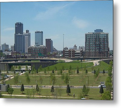 Metal Print featuring the photograph Little Rock Ar by John Mathews