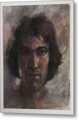 Little Selfportrait Metal Print by Paez  Antonio