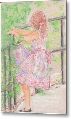 Little Sister Metal Print by Kathy Keith