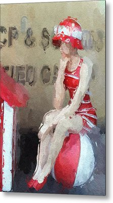 Little Toy Shop Princess Metal Print