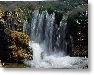Little Waterfall Metal Print