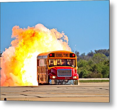 Late For School Metal Print by Annette Hugen