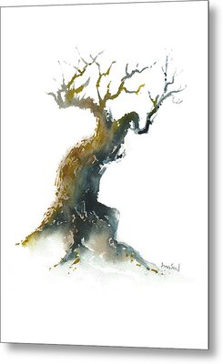 Little Zen Tree 1582 Metal Print by Sean Seal