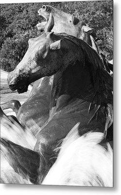 Littlefield Fountain Metal Print by Mark Weaver