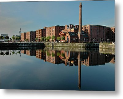 Liverpool Canning Docks Metal Print by Jonah  Anderson