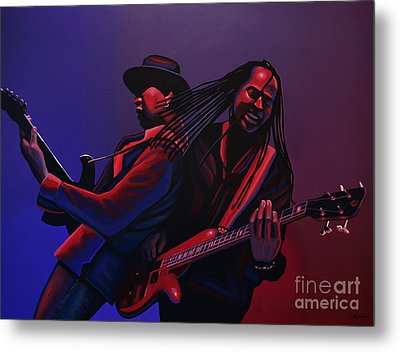 Living Colour Painting Metal Print