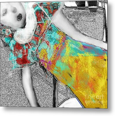 living Doll Metal Print
