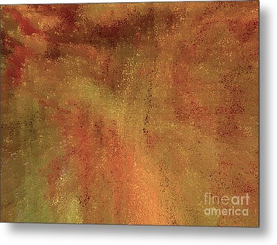 Living In A Copper World Metal Print