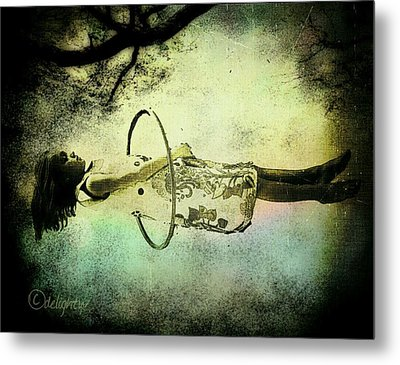 Living In The Fear Metal Print