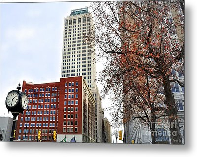 Living On Tulsa Time Metal Print