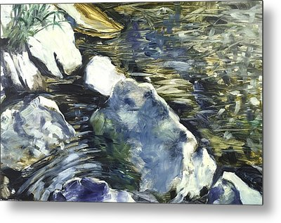 Living Water 3 Metal Print