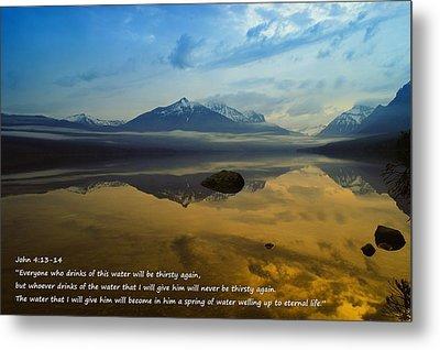 Living Water Metal Print by Jeff Swan