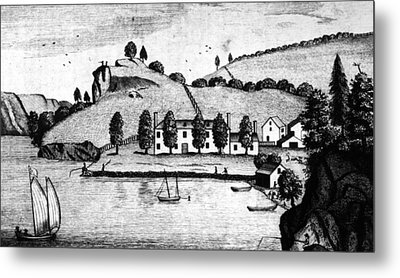 Livingston Estate, 1796 Metal Print