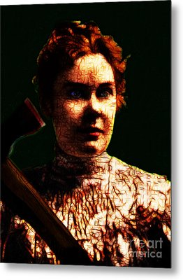 Lizzie Metal Print by Wingsdomain Art and Photography
