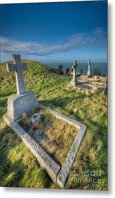 Llanbadrig Cemetery Metal Print by Adrian Evans