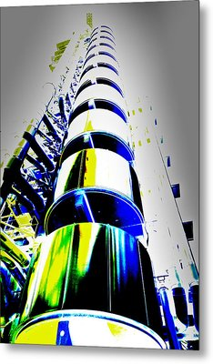 Lloyd's Building London Art Metal Print