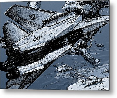 Loaded For Tank Metal Print by Joseph Juvenal