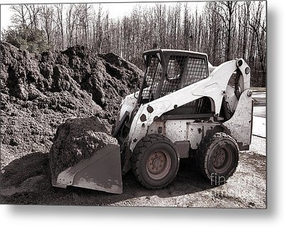 Loader  Metal Print by Olivier Le Queinec