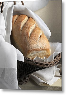Metal Print featuring the photograph Loaf Of Bread by Krasimir Tolev