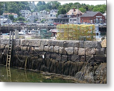 Metal Print featuring the photograph New England Lobster by Eunice Miller