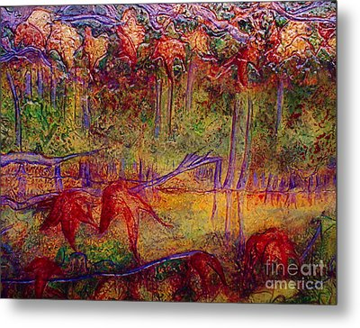 Local Color Metal Print by D Renee Wilson