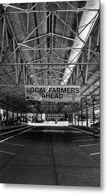 Local Farmers Metal Print by Mark Alder