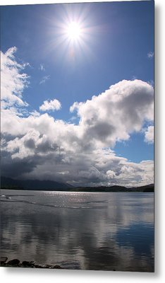 Metal Print featuring the photograph Loch Etive by Elizabeth Lock