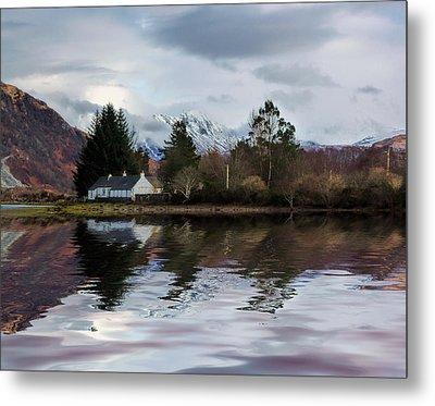 Loch Etive Reflections Metal Print