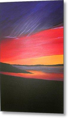 Loch Ewe Metal Print by Aileen Carruthers