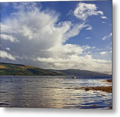 Metal Print featuring the photograph Loch Fyne Scotland by Jane McIlroy