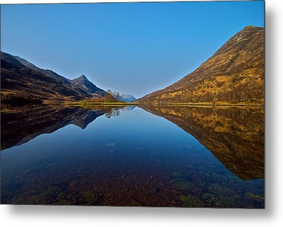 Metal Print featuring the photograph Loch Leven by Stephen Taylor