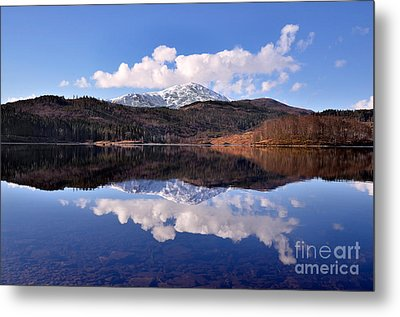 Loch Lomond Metal Print by Aditya Misra
