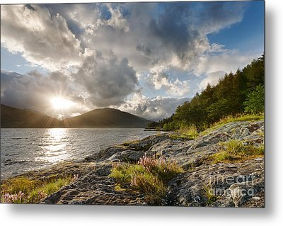 Loch Lomond Metal Print by Rod McLean