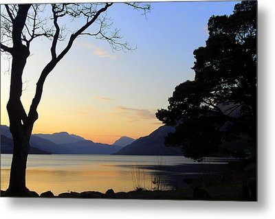 Loch Lomond Sunset Metal Print