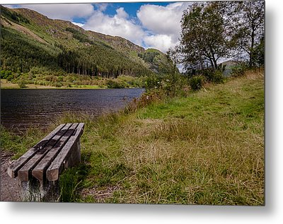 Metal Print featuring the photograph Loch Lubnaig by Sergey Simanovsky