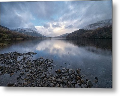 Metal Print featuring the photograph Loch Lubnair by Stephen Taylor
