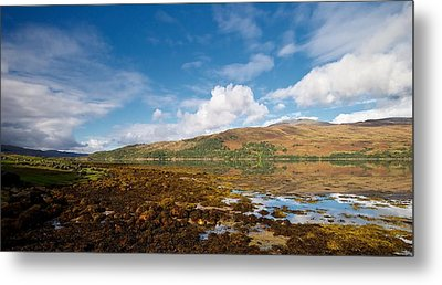Metal Print featuring the photograph Loch Sunart by Stephen Taylor