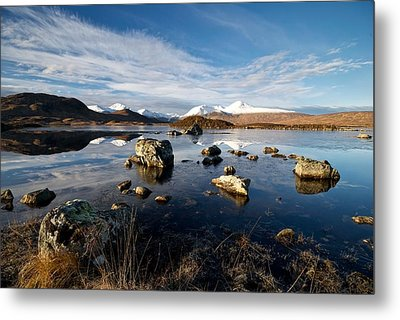 Metal Print featuring the photograph Lochan Na H-achlaise by Stephen Taylor