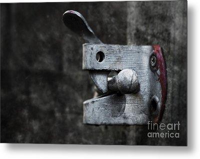 Lock Metal Print by Svetlana Sewell