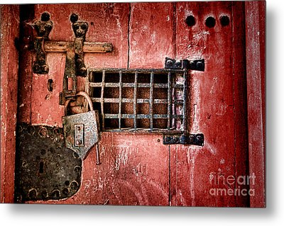 Locked Up Metal Print by Olivier Le Queinec