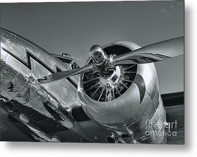 Lockheed 12a Electra Junior  Metal Print