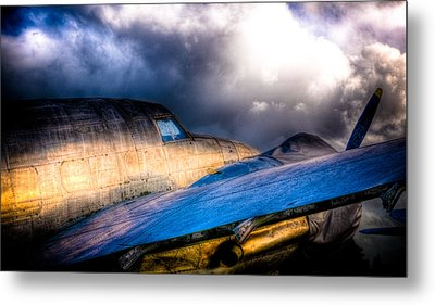 Lockheed Hudson Metal Print by Phil 'motography' Clark