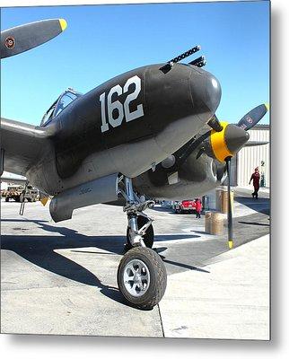 Lockheed P-38 - 162 Skidoo - 01 Metal Print by Gregory Dyer