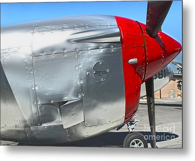 Lockheed P-38l Lightning Honey Bunny  - 08 Metal Print by Gregory Dyer