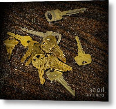 Locksmith - Rejected Keys Metal Print by Paul Ward